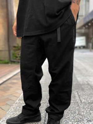 kustomstyle カスタムスタイル クライミングパンツ (KSLP2104BK) TRI-FIVE ripstop cotton climing pants カラー:ブラック