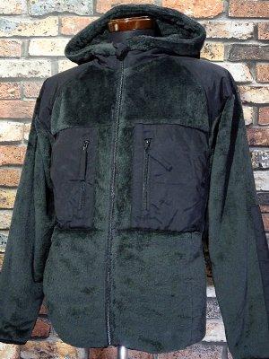 UNCROWD アンクラウド ミリタリーフリース フーディ (UC-503-021) military fleece hoodiet カラー:ブラック