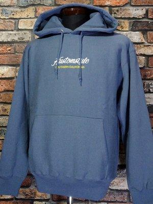 kustomstyle カスタムスタイル スウェットプルオーバーパーカー (KSP2117BL) PALMSS pullover hoodie カラー:ブルーグレー