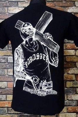 parasite パラサイト Tシャツ redemption カラー:ブラック