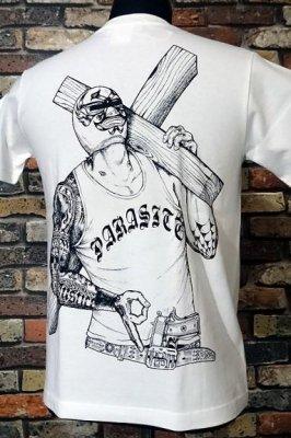 parasite パラサイト Tシャツ redemption カラー:ホワイト