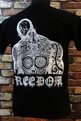 parasite パラサイト Tシャツ freedom カラー:ブラック