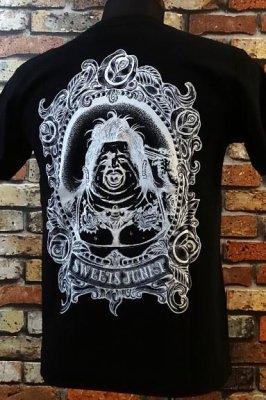 parasite パラサイト Tシャツ sweet junky カラー:ブラック