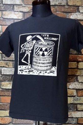 parasite パラサイト Tシャツ killing カラー:ライトブラック
