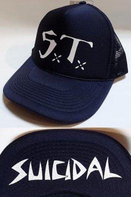 suicidal tendencies スイサイダルテンデンシーズ メッシュcap eu tour limited design カラー:ネイビー
