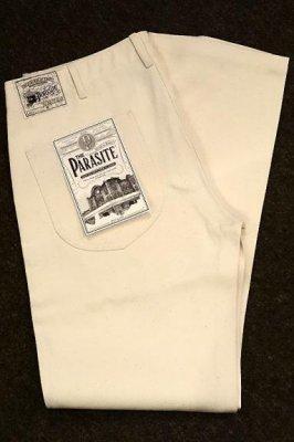 parasite パラサイト ワークパンツ (PST003P カラー:ナチュラル