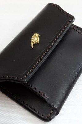 parasite パラサイト レザーコインケース(coin purse) カラー:ブラック