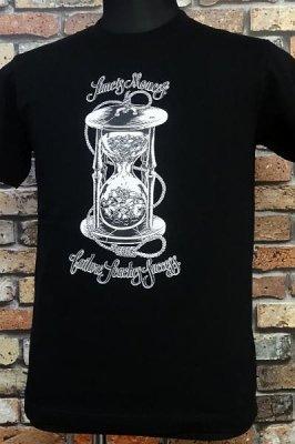 parasite パラサイト Tシャツ time is money カラー:ブラック