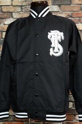 parasite パラサイト スタジアム ナイロンジャケット (NYLON SJK)  カラー:ブラック