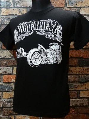 la familia original ラ ファミリアオリジナル  Tシャツ (En Sur Califas) カラー:ブラック