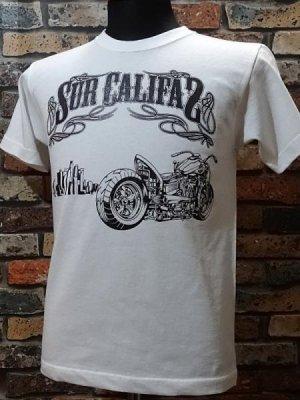 la familia original ラ ファミリアオリジナル  Tシャツ (En Sur Califas) カラー:ホワイト