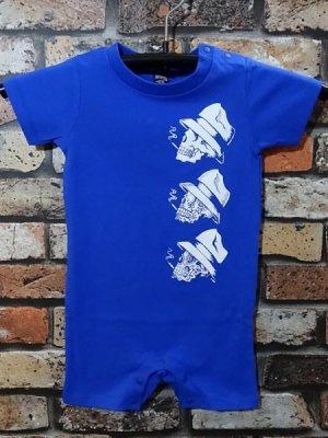 og classix オージークラッシックス ベビー ロンパース  six skull rompers カラー:ブルー