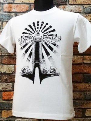 parasite パラサイト Tシャツ LightHouse  カラー:ホワイト