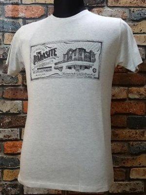 parasite パラサイト Tシャツ Capital  カラー:オートミール