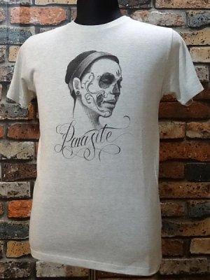parasite パラサイト Tシャツ swan  カラー:オートミール