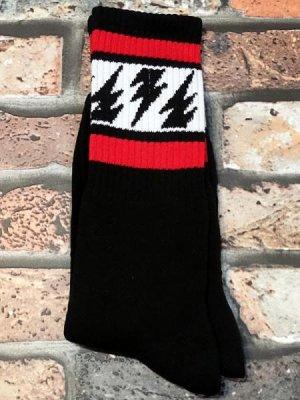 socco socks  ハイソックス  (MCMV2) マイクバレリー シグネチャーモデル  Black Crew  カラー:ブラック