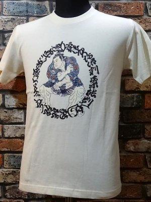 parasite パラサイト Tシャツ sakurafubuki カラー:ナチュラル