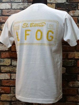 la familia original ラ ファミリアオリジナル  Tシャツ (EL BARRiO) カラー:ホワイト