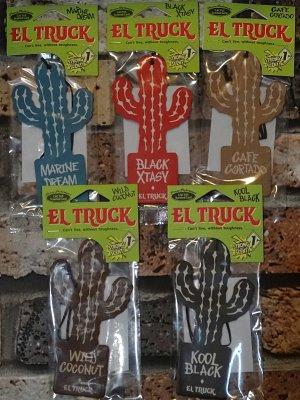 EL TRUCK  エアフレッシュナー  cactus