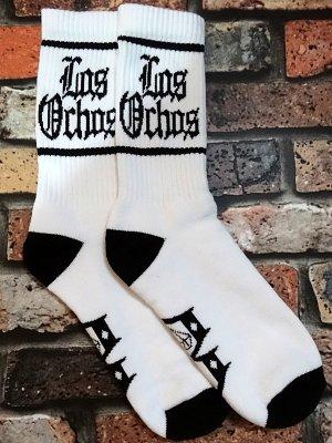 rebel8 レベルエイト ソックス  los ochos white socks  カラー:ホワイト