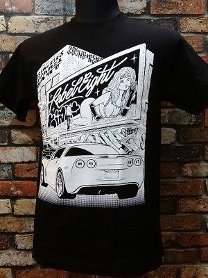 rebel8 レベルエイト Tシャツ  angel カラー:ブラック