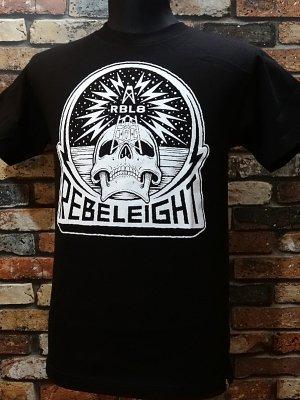 rebel8 レベルエイト Tシャツ  rebel transmissions  カラー:ブラック