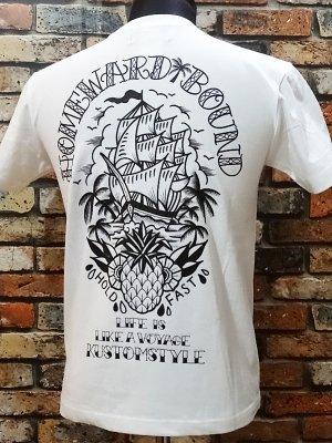kustomstyle カスタムスタイル Tシャツ (KST1506WH) homeward bound カラー:ホワイト