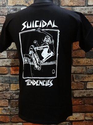 suicidal tendenciesスイサイダルテンデンシーズ Tシャツ (Lance Mountain art Skater) カラー:ブラック