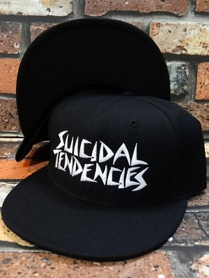 suicidal tendencies スイサイダルテンデンシーズ snapback cap(ST OG Embroidered) カラー:ブラック