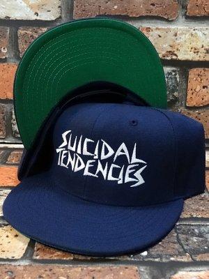 suicidal tendencies スイサイダルテンデンシーズ snapback cap(ST OG Embroidered) カラー:ネイビー