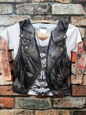 faux real フォーリアル キッズ ロングスリーブTシャツ(Tattoo Vest)