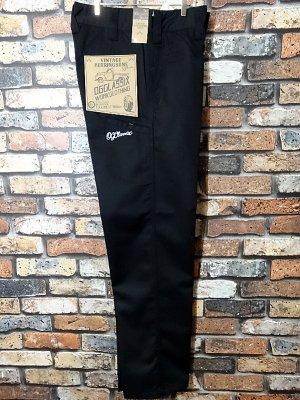 OG Classix  オージークラッシックス ワークパンツ vintage herringbone pants  カラー:ブラック
