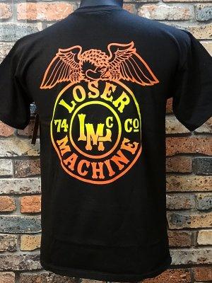 LOSER MACHINE ルーザーマシーン Tシャツ (Stamped) カラー:ブラック