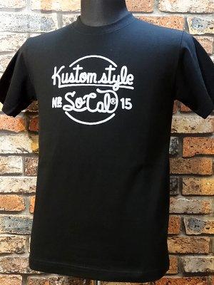 kustomstyle カスタムスタイル Tシャツ (KST1510BK) NR_15  カラー:ブラック