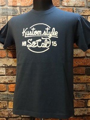kustomstyle カスタムスタイル Tシャツ (KST1510SL) NR_15  カラー:チャコールネイビー