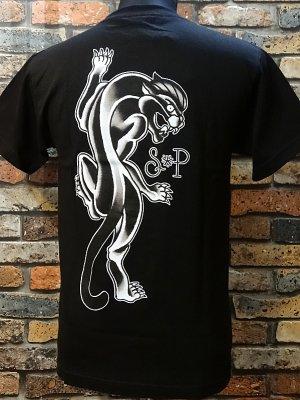 SUAVECITO スアベシート  Tシャツ (PANTHER)  カラー:ブラック