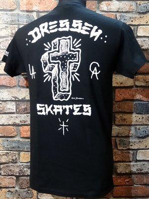 dressen skates ドレッセン スケーツ Tシャツ (D RIDER) カラー:ブラック