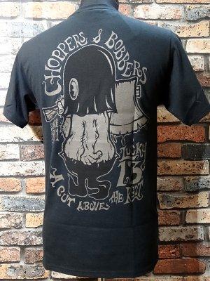 lucky13 ラッキー13 Tシャツ (A Cut Above)  カラー:ブラック