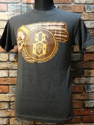 rebel8 レベルエイト Tシャツ  pioneers  カラー:グレー