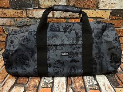 rebel8 レベルエイト 総柄 ドラムバック  giant flash duffle bag