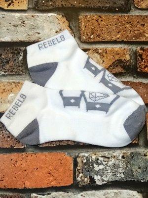 rebel8 レベルエイト ソックス  stealth socks カラー:ホワイト