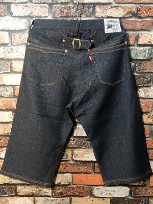 parasite パラサイト スウェットクロップドパンツ indigo sweat 5P short pants カラー:インディゴブルー