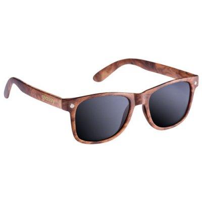glassy sunhaters グラッシーサンハッターズ サングラス (LEONARD)-WOOD/SMOKE