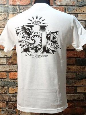 LOSER MACHINE ルーザーマシーン ポケットTシャツ (PARLOUR) カラー:ホワイト