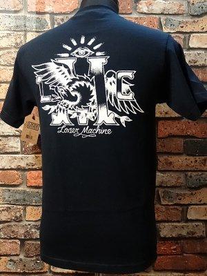 LOSER MACHINE ルーザーマシーン ポケットTシャツ (PARLOUR) カラー:ネイビー