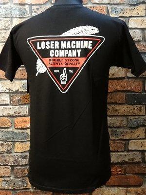 LOSER MACHINE ルーザーマシーン Tシャツ (FEATHERWEIGHT) カラー:ブラック