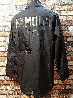 famous stars and straps ナイロン コーチジャケット (PUBLIC ENEMY) nylon jacket  カラー:ブラック