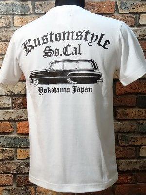 kustomstyle カスタムスタイル Tシャツ (KST1516WH) handyman  カラー:ホワイト