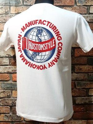 kustomstyle カスタムスタイル Tシャツ (KST1518WH) milwaukee  カラー:ホワイト