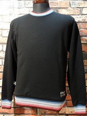 og classix オージークラッシックス クルーネック スウェットトレーナー (EL SERAPE) sweat  カラー:ブラック